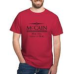 McCain / Mac will clean up Iraq Dark T-Shirt