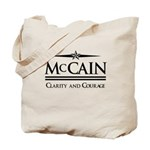McCain / Clarity and Courage Tote Bag