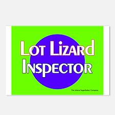 Lot Lizard Inspector Postcards (Package of 8)