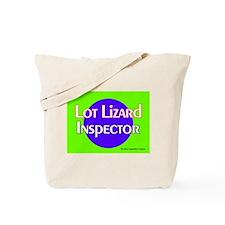 Lot Lizard Inspector Tote Bag