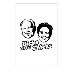 Dicks before Chicks Postcards (Package of 8)