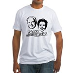 Dicks before Chicks Fitted T-Shirt
