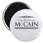 Insane for McCain Magnet
