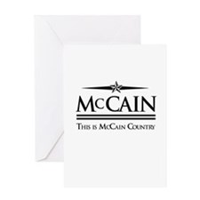 This Is McCain Country Greeting Card