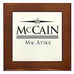 McCain / Mac Attack Framed Tile