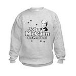 John McCain for president Kids Sweatshirt