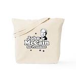 John McCain for president Tote Bag