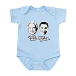 Vote Mac Not Black Infant Bodysuit