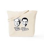 Vote Mac Not Black Tote Bag