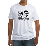 Vote Mac Not Black Fitted T-Shirt
