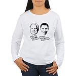Vote Mac Not Black Women's Long Sleeve T-Shirt