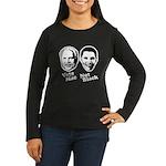 Vote Mac Not Black Women's Long Sleeve Dark T-Shir