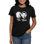 Vote Mac Not Black Women's Dark T-Shirt