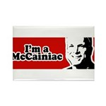 I'm a McCainiac Rectangle Magnet (100 pack)