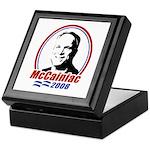 McCainiac 2008 Keepsake Box