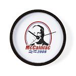 McCainiac 2008 Wall Clock