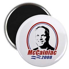 "McCainiac 2008 2.25"" Magnet (10 pack)"