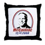 McCainiac 2008 Throw Pillow
