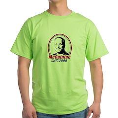 McCainiac 2008 T-Shirt