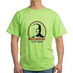 McCainiac 2008 Green T-Shirt