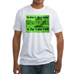 Grass is Always Greener Fitted T-Shirt