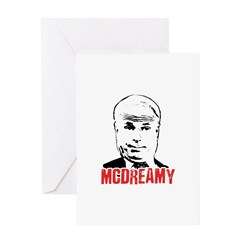 McCain is McDreamy Greeting Card