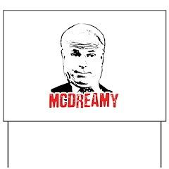 McCain is McDreamy Yard Sign