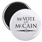 McVote for McCain Magnet