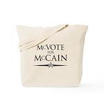 McVote for McCain Tote Bag