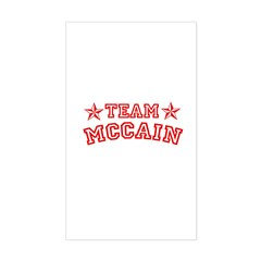Team McCain Rectangle Decal