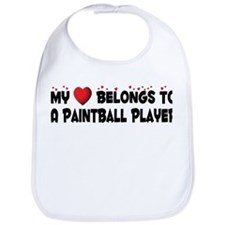 Belongs To A Paintball Player Bib