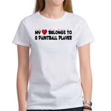 Belongs To A Paintball Player Tee