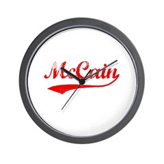 John McCain Wall Clock