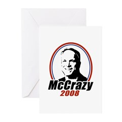 McCrazy 2008 Greeting Cards (Pk of 20)