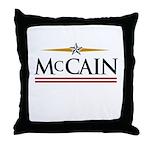 John McCain 08 Throw Pillow