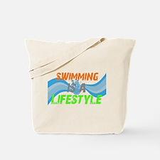 Unique Swimming fan Tote Bag
