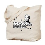 McVote for McCain Tote Bag