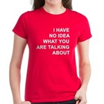 No Idea Women's Dark T-Shirt
