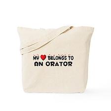 Belongs To An Orator Tote Bag