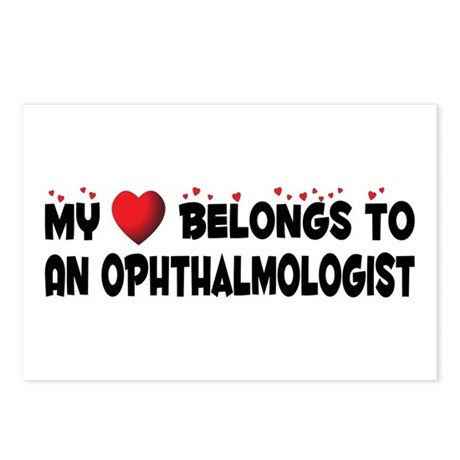 Belongs To An Ophthalmologist Postcards (Package o