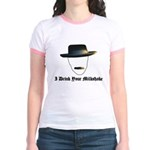 I Drink Your Milkshake Jr. Ringer T-Shirt