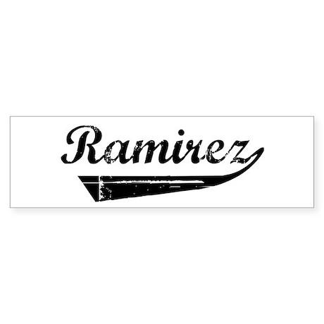 Ramirez (vintage) Bumper Sticker
