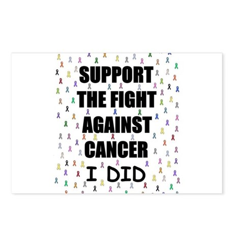 support the fight against cancer Postcards (Packag