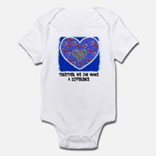 support the fight against cancer Infant Bodysuit