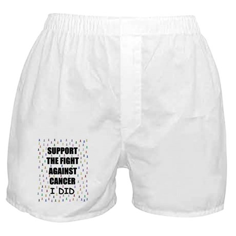 support the fight against cancer Boxer Shorts