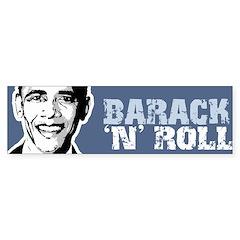 Barack n Roll Bumper Bumper Sticker