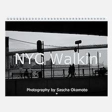 NYC WALKIN' Wall Calendar