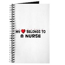 Belongs To A Nurse Journal