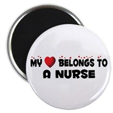 Belongs To A Nurse Magnet