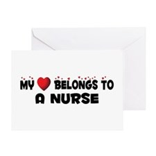 Belongs To A Nurse Greeting Card